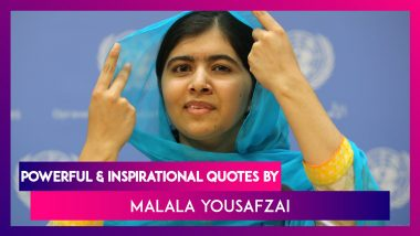 Malala Day 2020: Powerful & Inspirational Quotes by Malala Yousafzai on Her 23rd Birthday